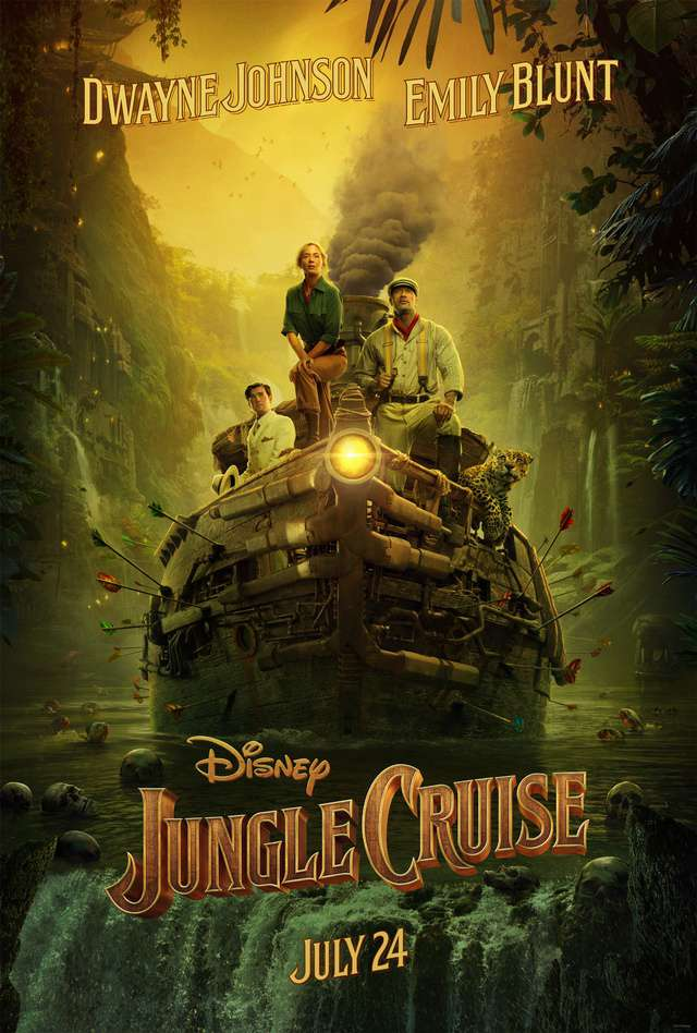 叢林奇航_Jungle Cruise_電影海報