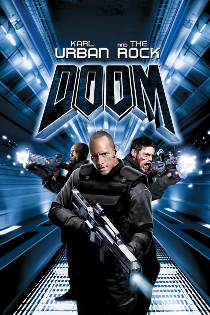 毀滅戰士_Doom_電影海報