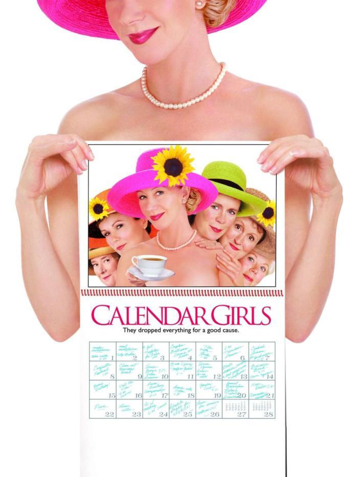 辣嬤寫真_Calendar Girls_電影海報