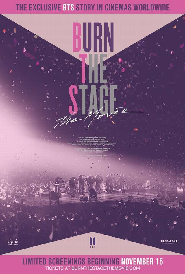 Burn the Stage The Movie Burn the Stage: The Movie_Burn the Stage The Movie Burn the Stage: The Movie_電影海報