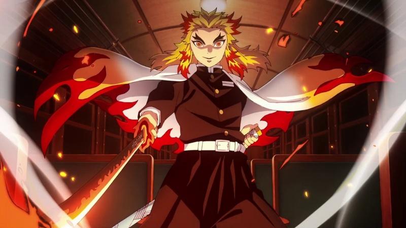 《鬼滅之刃劇場版 無限列車篇》關鍵人物:鬼殺隊「炎柱」煉獄杏壽郎。