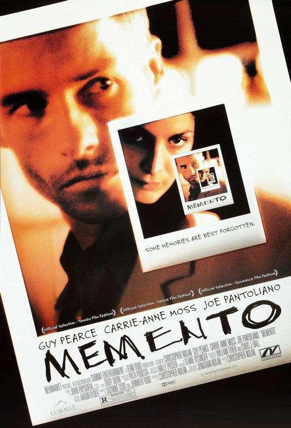 記憶拼圖_Memento_電影海報