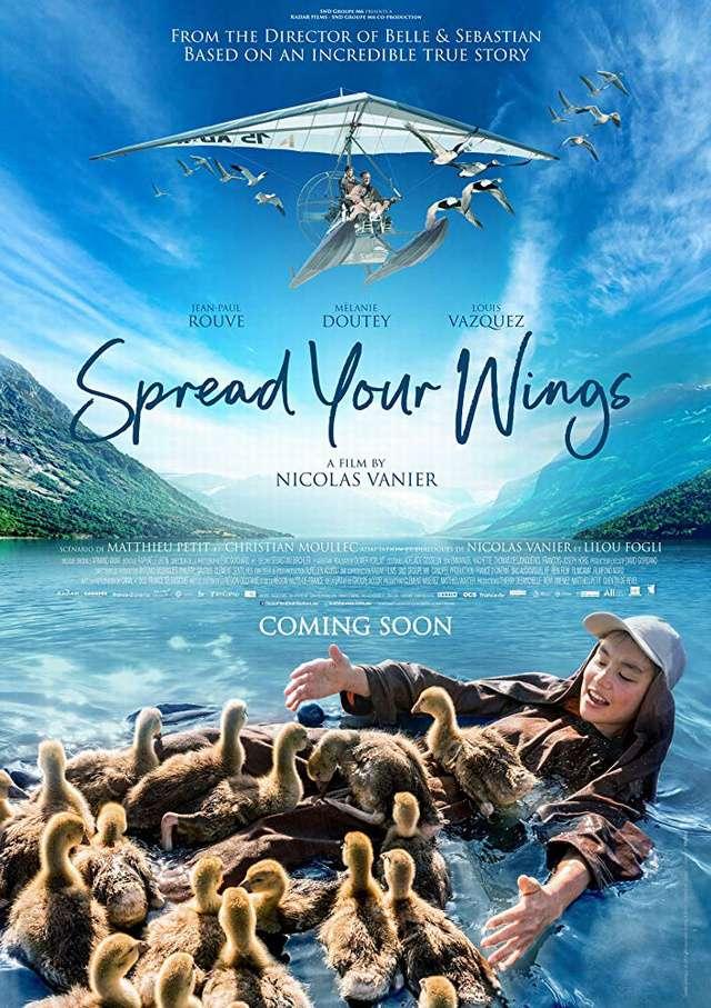 迷雁返家路_Spread Your Wings_電影海報
