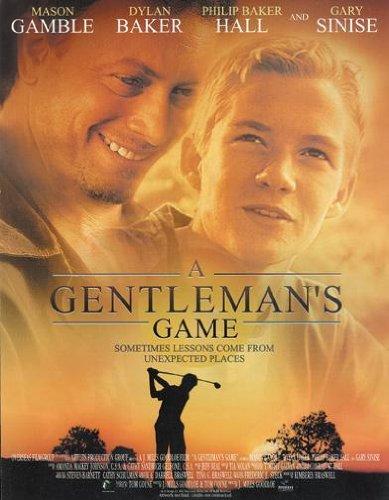 天才桿弟_Gentleman's game_電影海報