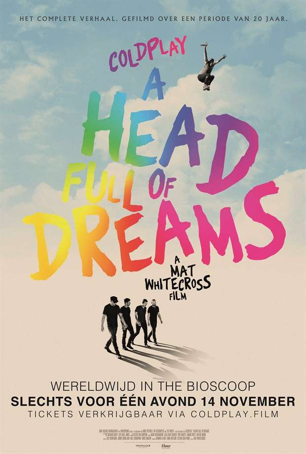 酷玩樂團:夢過頭_Coldplay: A Head Full of Dreams_電影海報