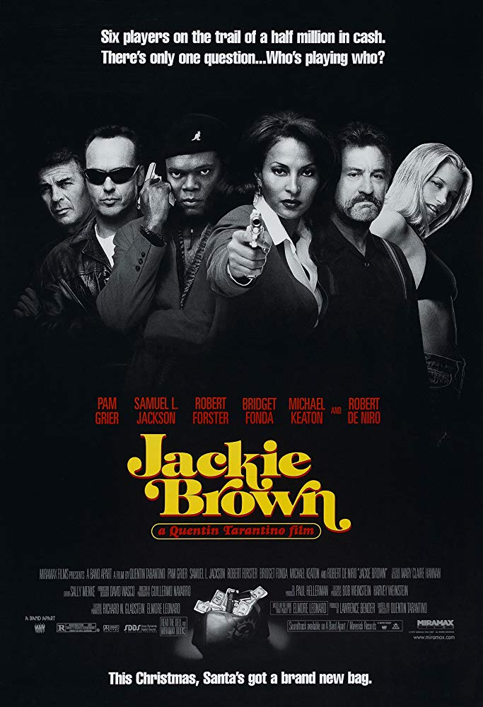 黑色終結令_Jackie Brown_電影海報