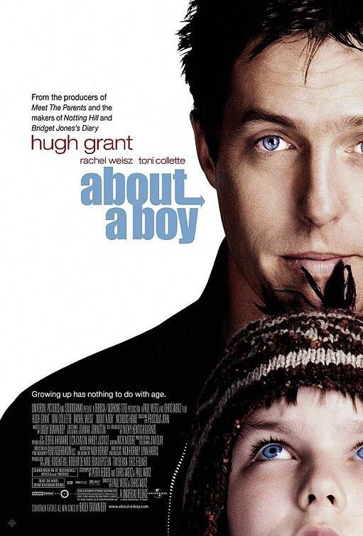 非關男孩_About a Boy_電影海報