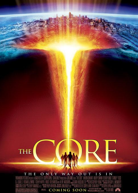 地心毀滅_The Core_電影海報
