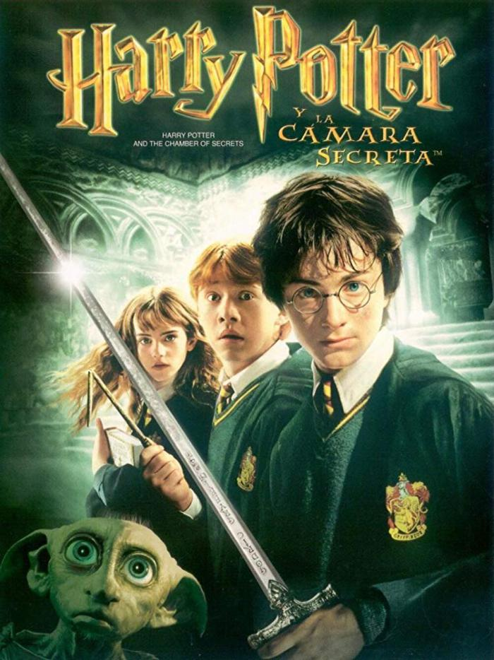 哈利波特:消失的密室_Harry Potter and the Chamber of Secrets_電影海報