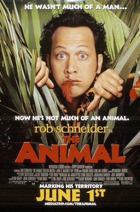 獸性大發_The Animal_電影海報