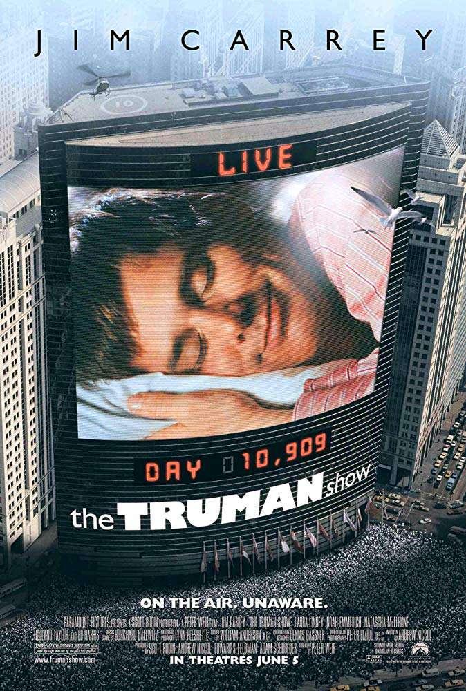 楚門的世界_The Truman Show_電影海報