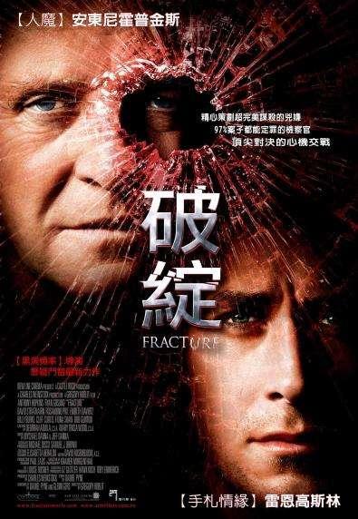 破綻_Fracture (2007)_電影海報