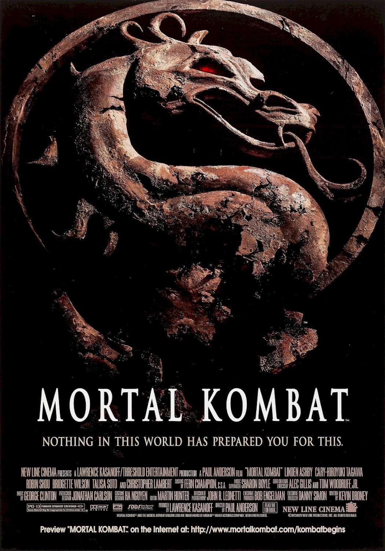 魔宮帝國_Mortal Kombat(1995)_電影海報