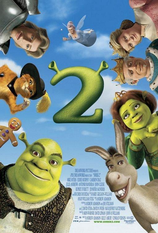 史瑞克2_Shrek 2_電影海報