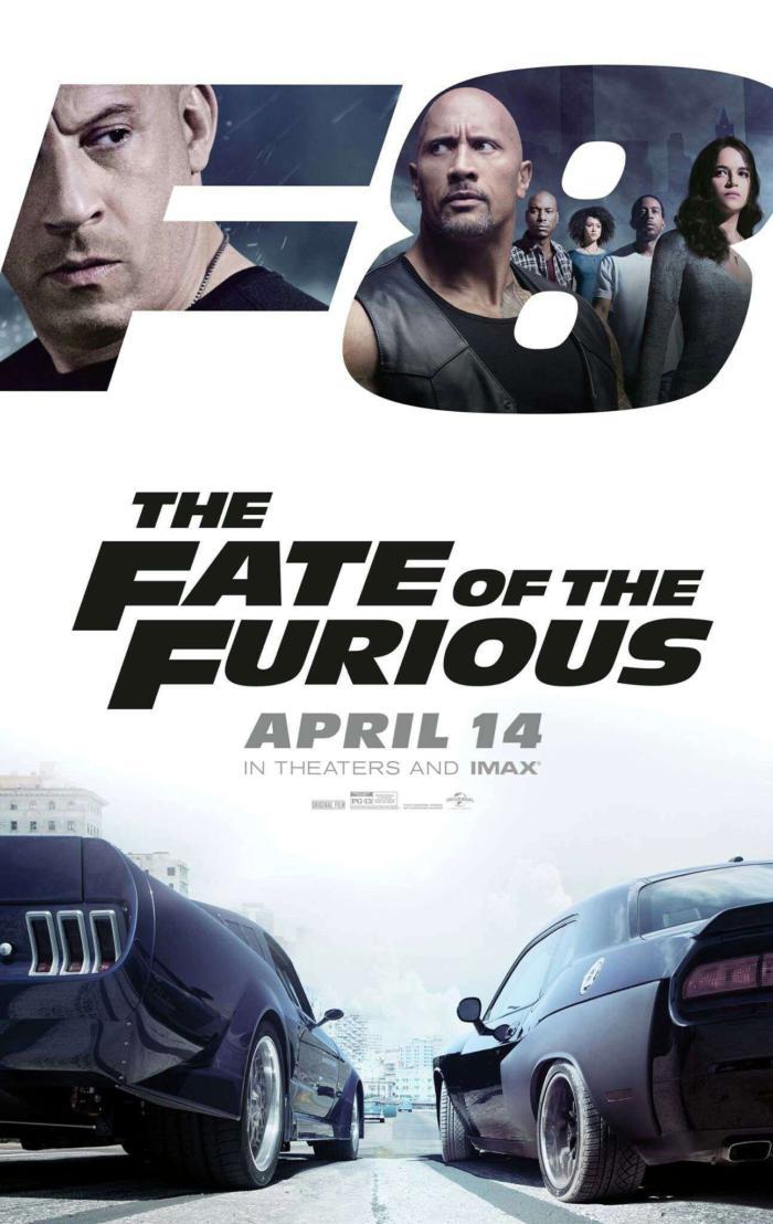 玩命關頭8_The Fate of the Furious_電影海報