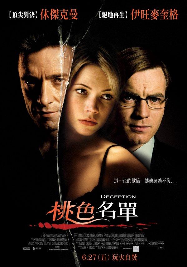 桃色名單_Deception (2008)_電影海報