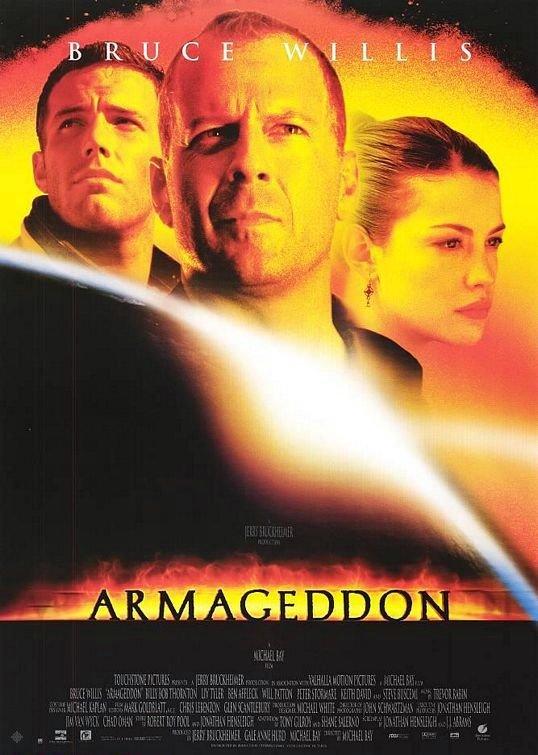 世界末日_Armageddon (1998)_電影海報