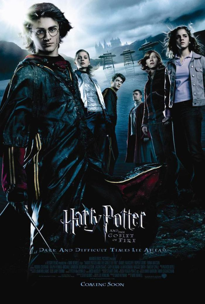 哈利波特:火盃的考驗_Harry Potter & The Goblet of Fire_電影海報