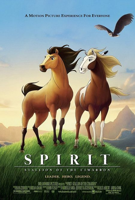 小馬王_Spirit: Stallion of the Cimarron_電影海報