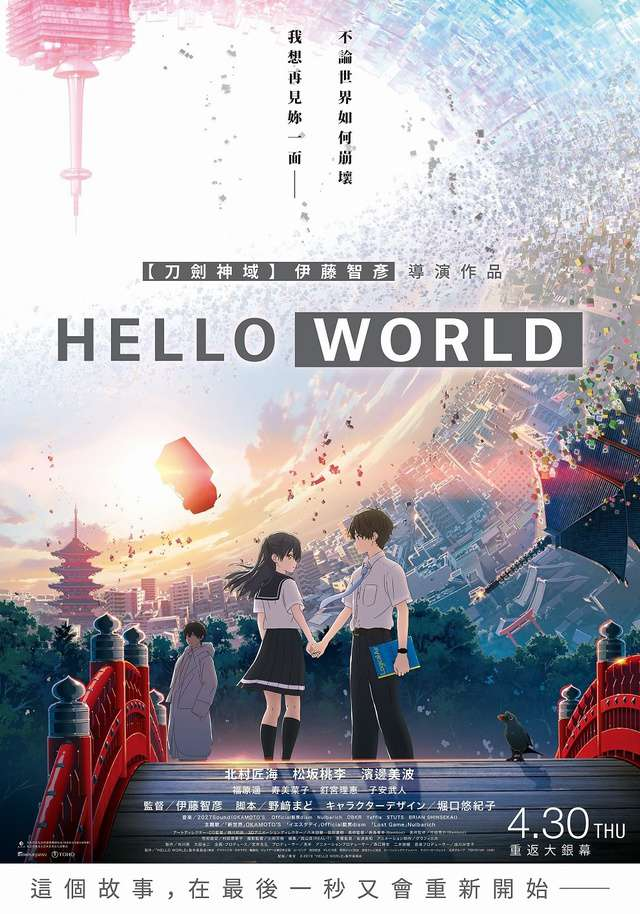 Hello World__電影海報