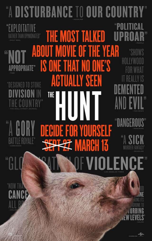 惡獵遊戲_The Hunt_電影海報