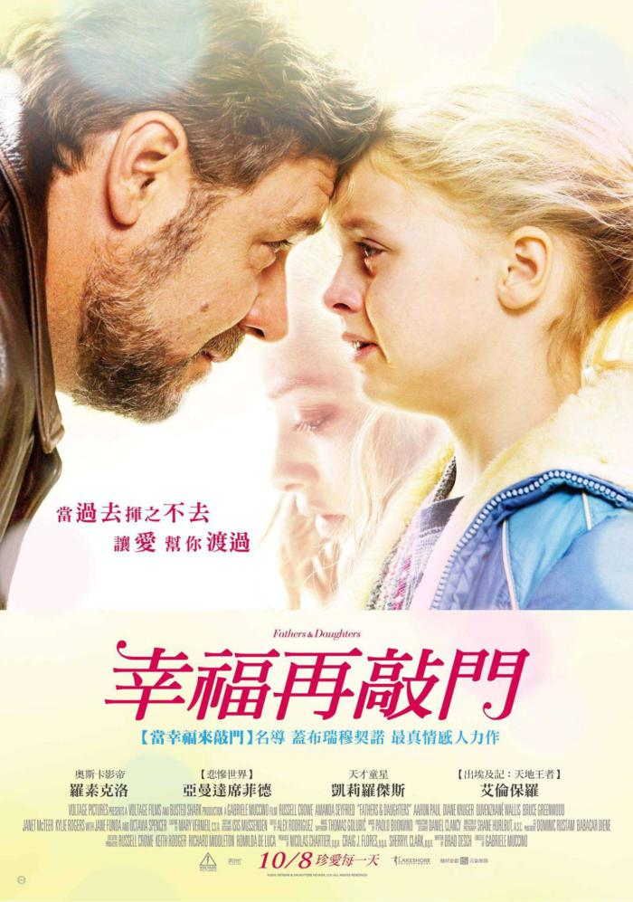 幸福再敲門_Fathers and Daughters_電影海報