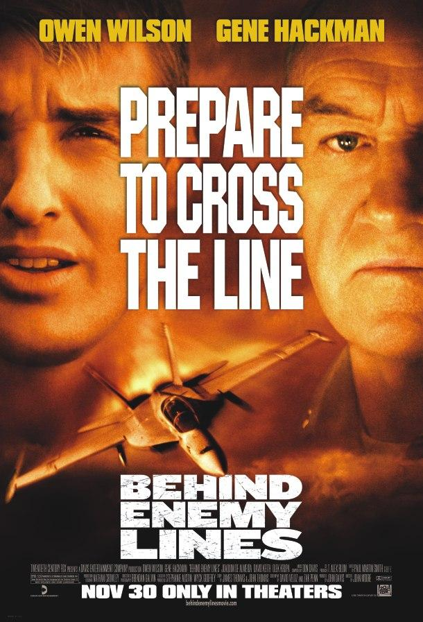 衝出封鎖線_Behind Enemy Lines (2001)_電影海報