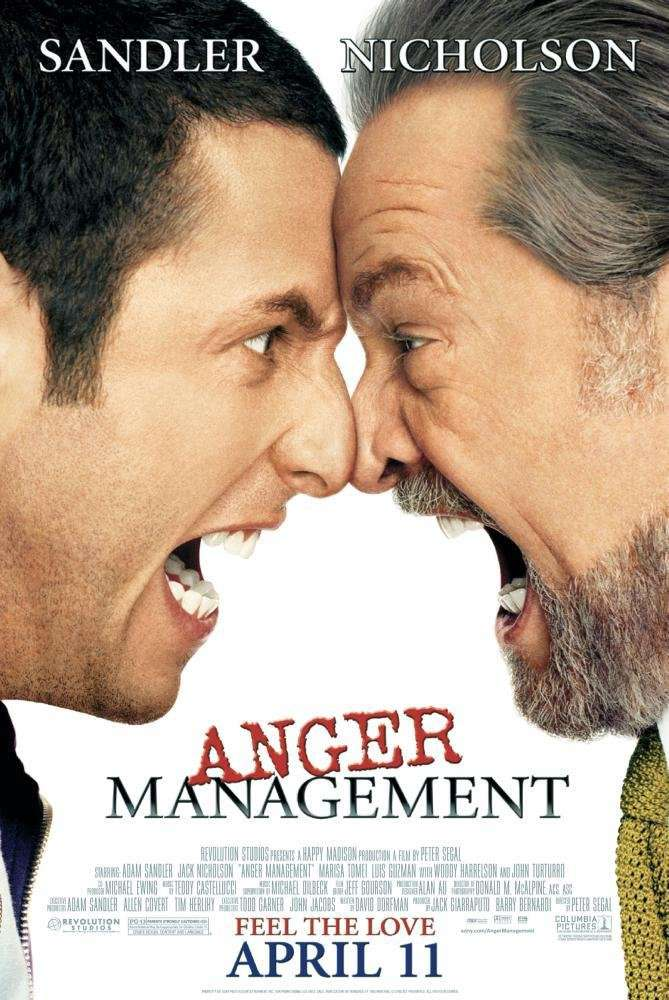 抓狂管訓班_Anger Management_電影海報