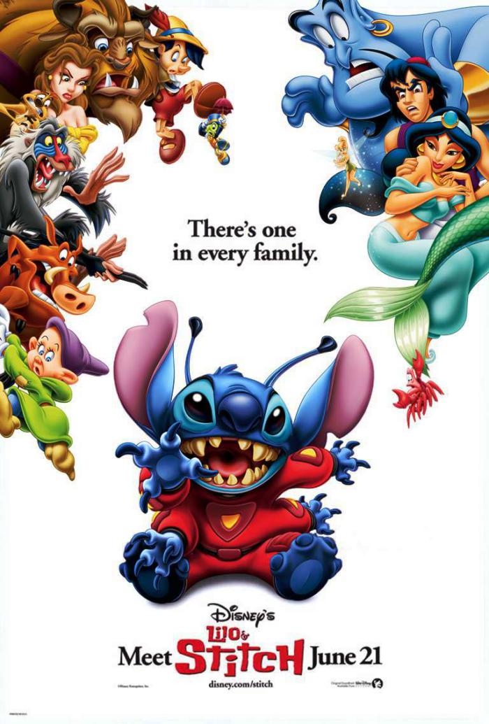 星際寶貝_Lilo & Stitch_電影海報
