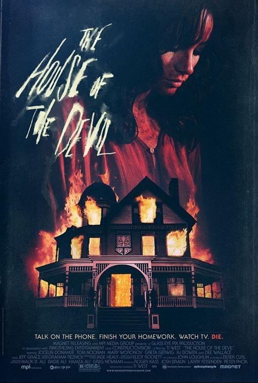 鬼屋禁地_The House of the Devil_電影海報