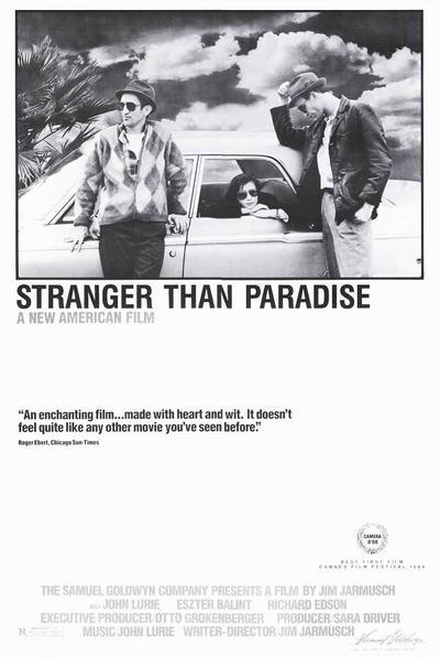 天堂陌影_Stranger Than Paradise_電影海報