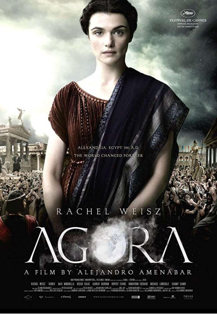 風暴佳人_Agora_電影海報