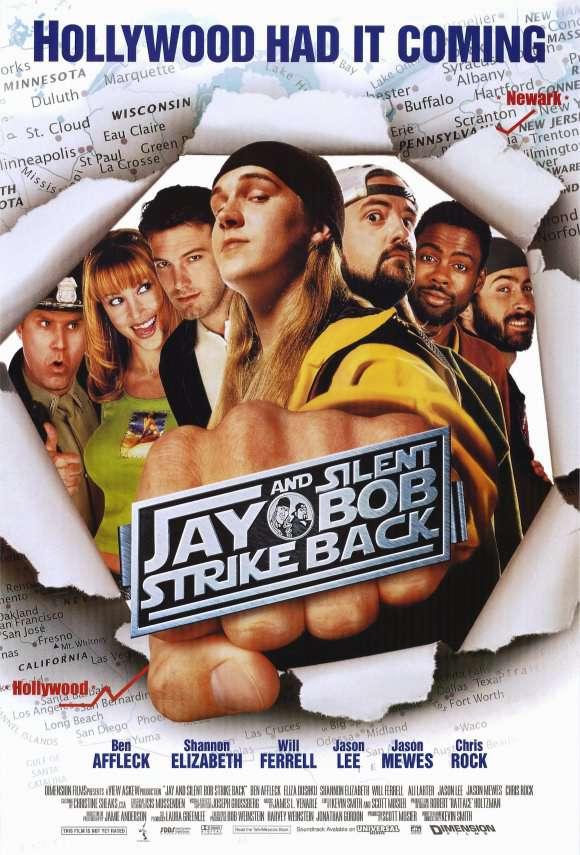 白爛賤客_Jay and Silent Bob Strike Back_電影海報