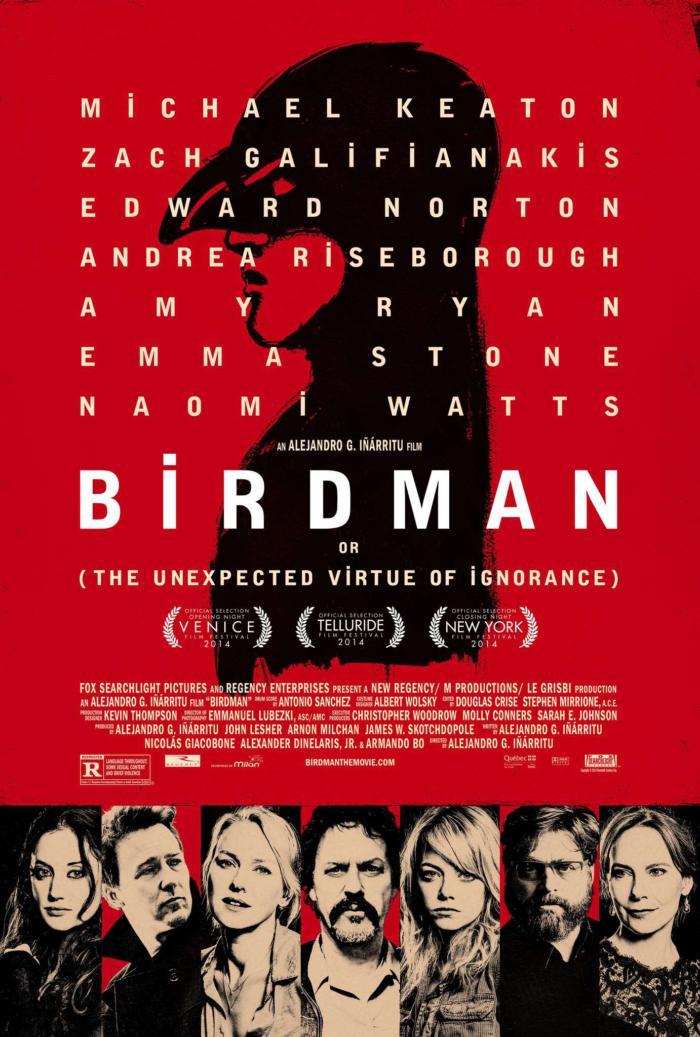 鳥人_Birdman_電影海報