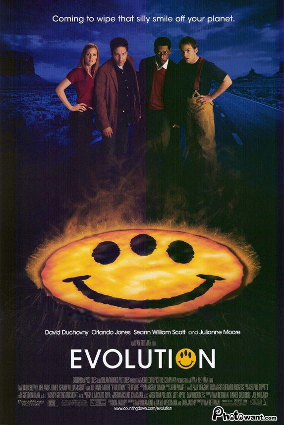 進化特區_Evolution (2001)_電影海報