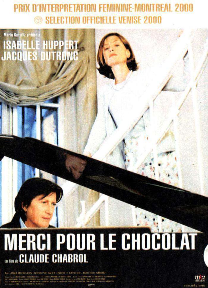 謝謝你的巧克力_Merci pour le chocolat_電影海報
