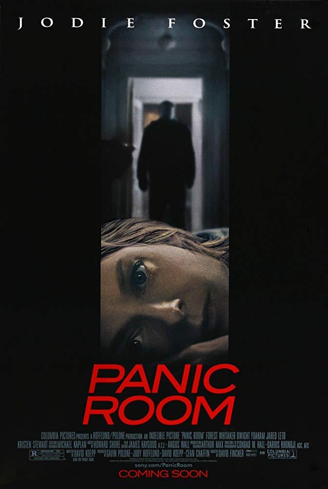顫慄空間_Panic Room_電影海報