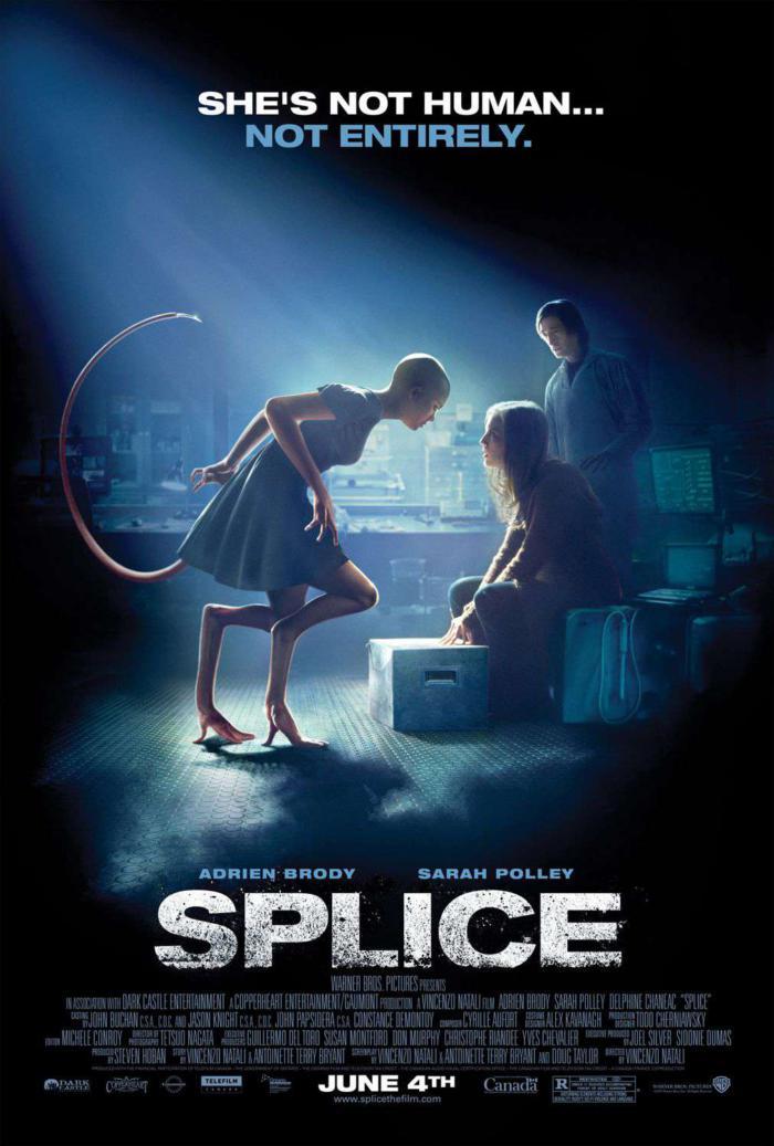 人工進化_Splice_電影海報