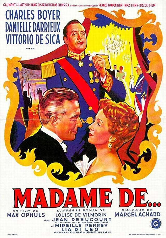 巴黎貴婦的耳環_Madame de..._電影海報