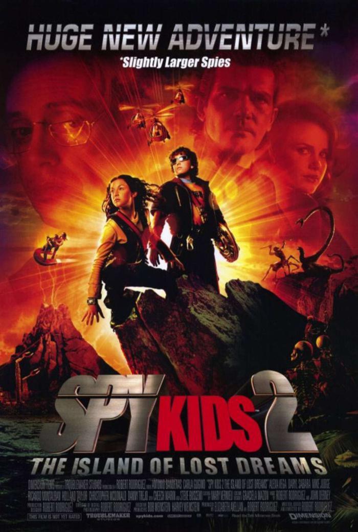 小鬼大間諜2-惡夢島_Spy Kids 2: The Island of Lost Dreams_電影海報