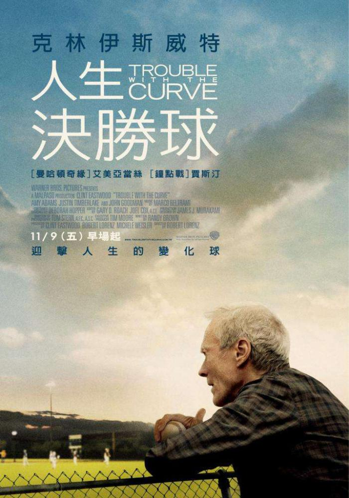 人生決勝球_Trouble with the Curve_電影海報