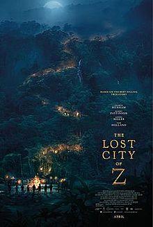 失落之城_The Lost City of Z_電影海報