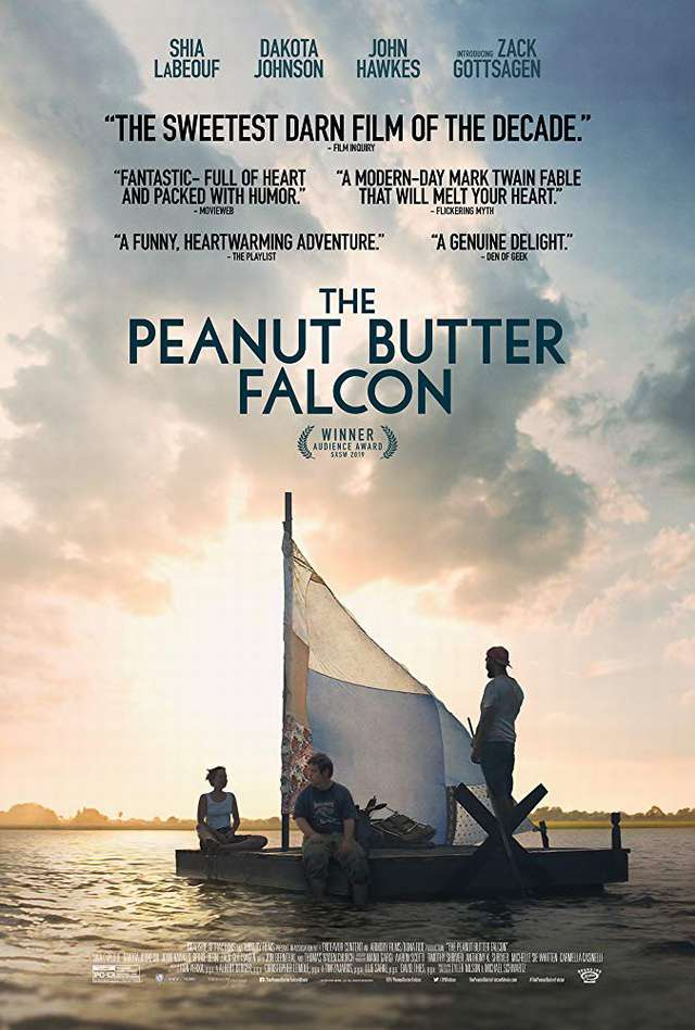 花生醬獵鷹的願望_The Peanut Butter Falcon_電影海報