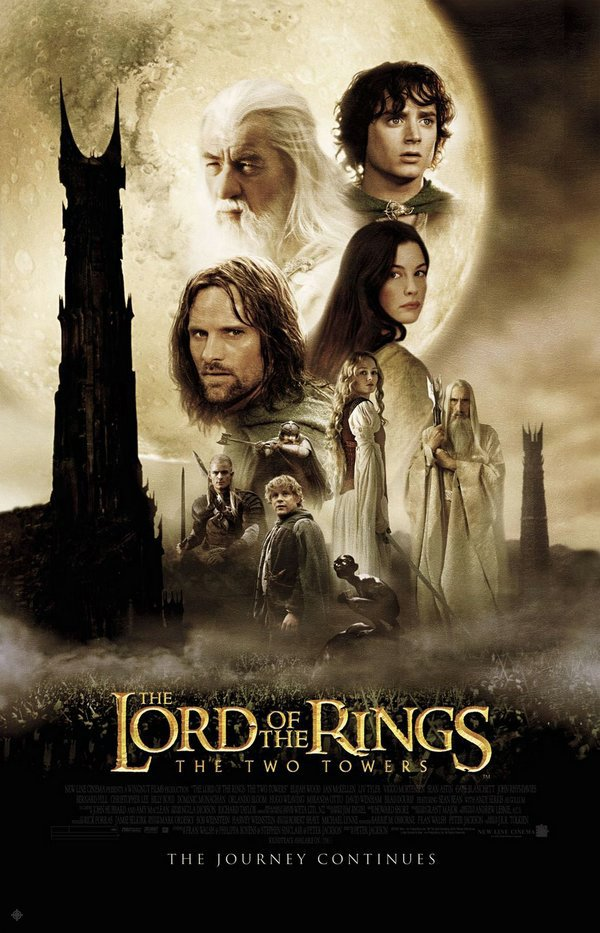 魔戒二部曲:雙城奇謀_The Lord of the Rings: The Two Towers_電影海報