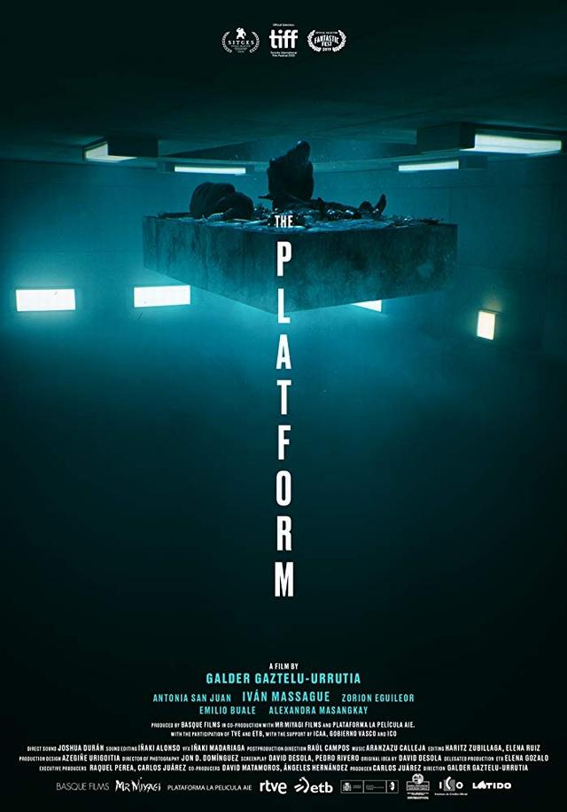 絕命大平台_The Platform_電影海報