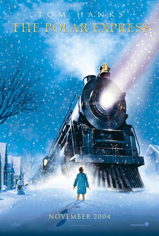 北極特快車_The Polar Express_電影海報
