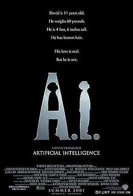 AI人工智慧_A.I. Artificial Intelligence_電影海報