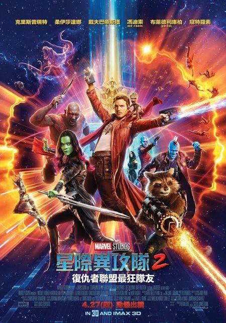 星際異攻隊2_Guardians of the Galaxy Vol. 2_電影海報