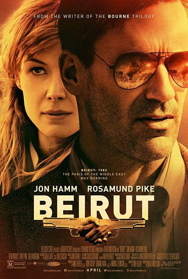 高壓行動_Beirut_電影海報