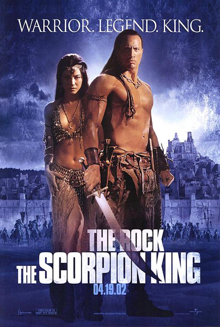 魔蠍大帝_The Scorpion King_電影海報